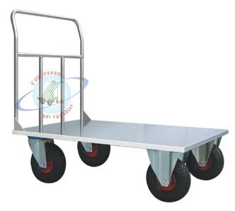 Carrello a pianale mm 1200x800 acciaio for Peso lamiera acciaio inox aisi 304