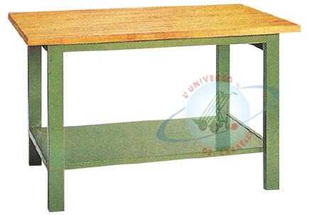 Banco Da Lavoro Per Legno : Banchi da lavoro in lamiera con piano in legno per uso professionale